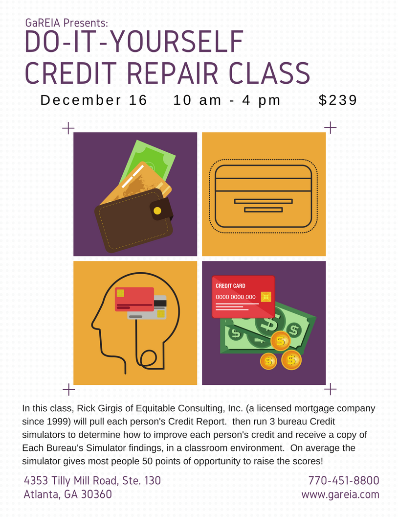 Do it yourself credit repair class rick girgis 10 am georgia do it yourself credit repair class rick girgis 10 am georgia real estate investors gareia atlanta real estate investing solutioingenieria Gallery